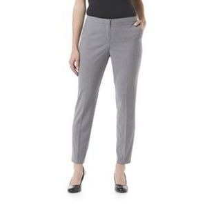 Jaclyn Smith Gray Trousers Dress Casual Pants